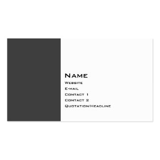 Basic Two Color 2 Business Cards