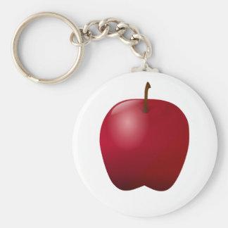 Basic Washington Apple Key Chain