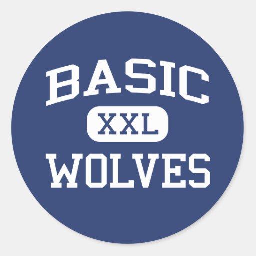 Basic - Wolves - High School - Henderson Nevada Sticker