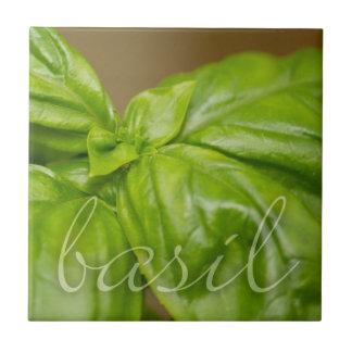 Basil decorative tile
