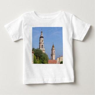 Basilica at Menton in France Baby T-Shirt