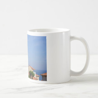 Basilica at Menton in France Coffee Mug
