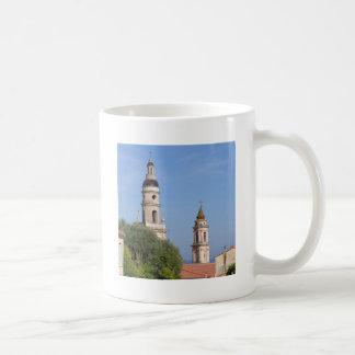 Basilica at Menton in France Coffee Mug