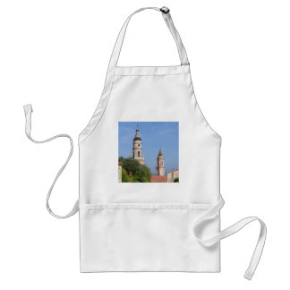 Basilica at Menton in France Standard Apron