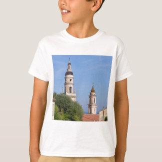 Basilica at Menton in France T-Shirt