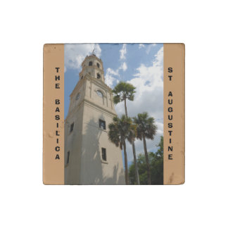 Basilica Cathedral Stone Magnet