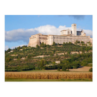 Basilica of Assisi Postcard