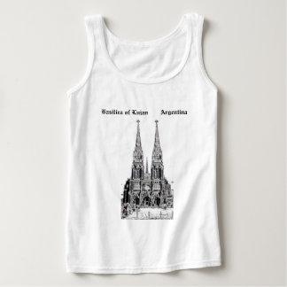 Basilica of Lujan (Pencil design) Singlet
