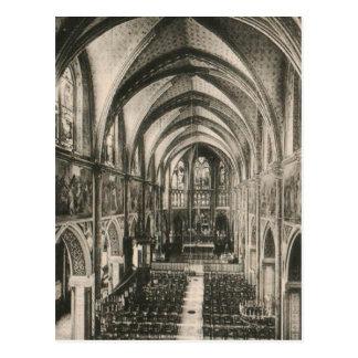 Basilica of Notre Dame du Sacre-Coeur Paris Postcard