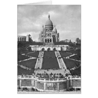 Basilica of Sacre-Coeur, Montmartre, 1876-1910 Card