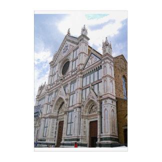 Basilica of Santa Croce Acrylic Print