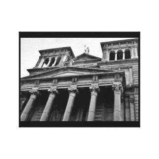 Basilica View Canvas Print