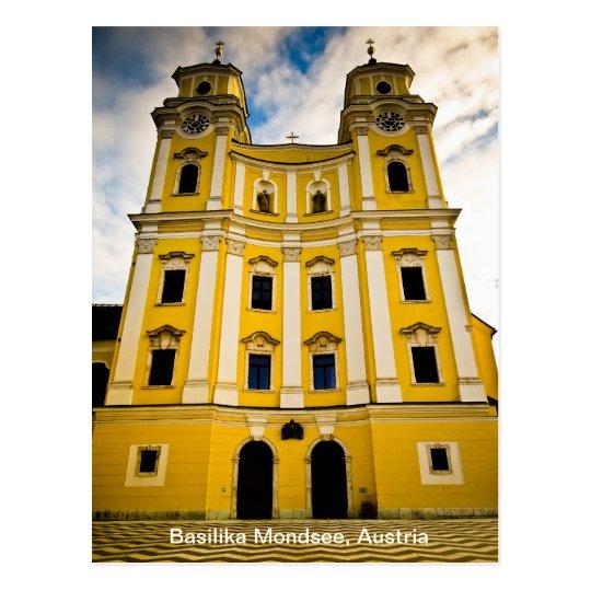 Basilika Mondsee, Austria Postcard