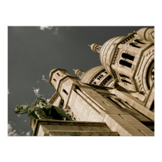 Basilique du Sacré-Cœur Poster