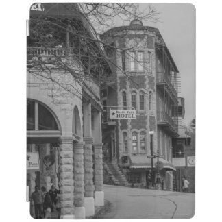 Basin Park And Flatiron Flats Grayscale iPad Cover