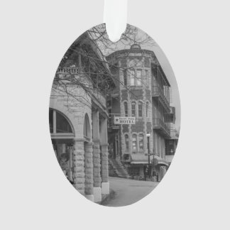 Basin Park And Flatiron Flats Grayscale Ornament