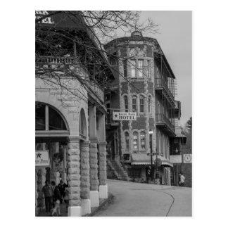 Basin Park And Flatiron Flats Grayscale Postcard