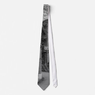 Basin Park And Flatiron Flats Grayscale Tie