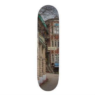Basin Park And Flatiron Flats Skateboard