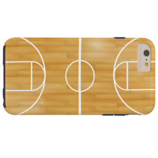 Basket Ball Court Tough iPhone 6 Plus Case