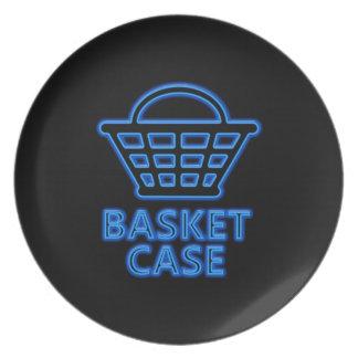 Basket case. plate