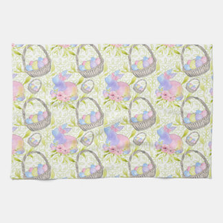 Basket Eggs Tea Towel