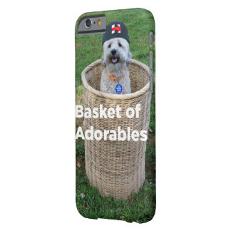 Basket of Adorables: Adorable Dogs for Hillary Barely There iPhone 6 Case