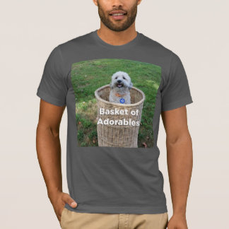 Basket of Adorables: Adorable Dogs for Hillary T-Shirt