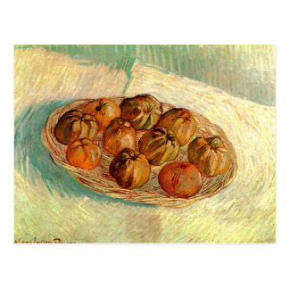 Basket of Apples to Lucien Pissarro - van Gogh Postcard