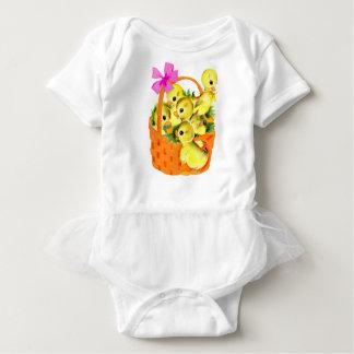 Basket of Baby Chicks Baby Bodysuit