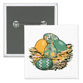 Basket of Colorful Easter Eggs 08 Pin