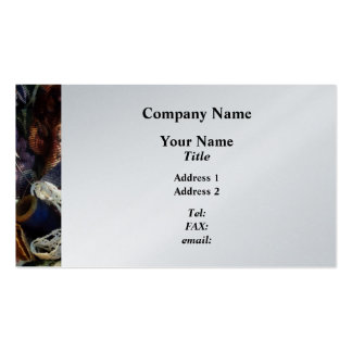 Basket of Crocheting and Thread - Platinum Business Card Templates