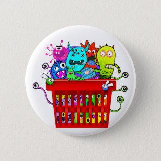 Basket of Deplorables, Adorable Deplorable 6 Cm Round Badge