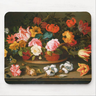 Basket of flowers, 1625 mouse pad