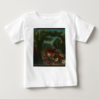 Basket of Flowers Baby T-Shirt