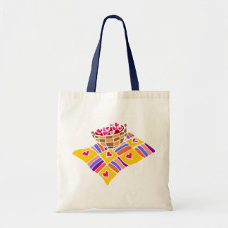 Basket of Flowers - Budget Tote Budget Tote Bag
