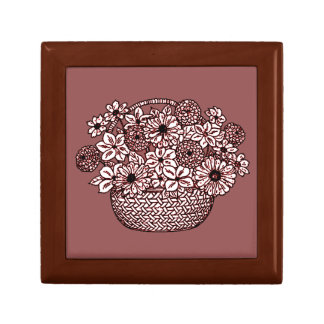 Basket of Flowers Gift Box