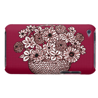 Basket of Flowers iPod Case-Mate Case