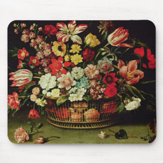 Basket of Flowers Mouse Pad