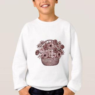 Basket of Flowers Sweatshirt
