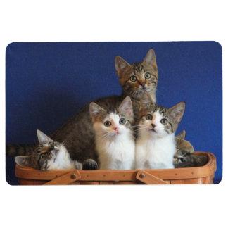Basket of Kittens Floor Mat