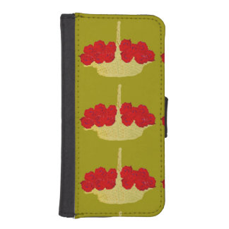 Basket of Red Roses iPhone 5 Wallet