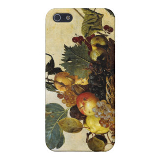 Basket with Fruit, Caravaggio iPhone 5 Cover