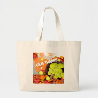 Basket with tennis ball in Thanksgiving Jumbo Tote Bag