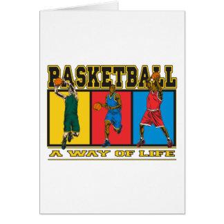 Basketball A Way of Life Card