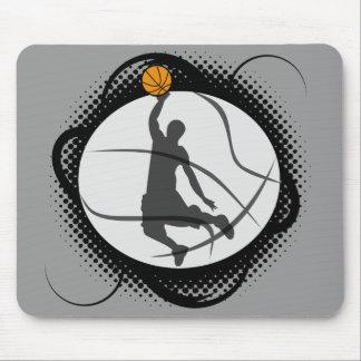 Basketball Abstract Mouse Pad