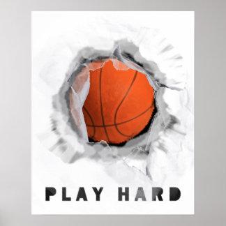 Basketball Advice Poster