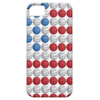 Basketball American Flag iPhone 5 Case