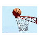 Basketball anticipation postcard