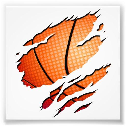 Basketball Art Photo